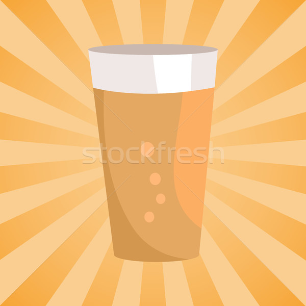 Stock photo: Alcohol Drink with Bubbles, Symbol of Oktoberfest