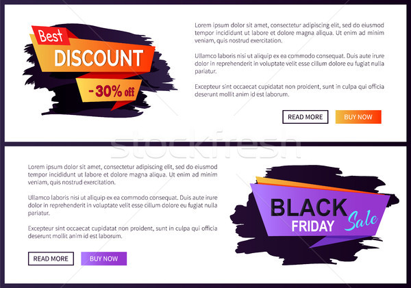 Best Discount -30 off Black Friday Big Sale 2017 Stock photo © robuart