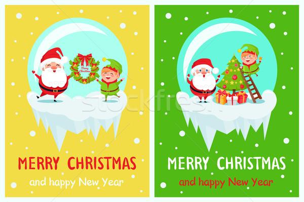 Merry christmas открытки