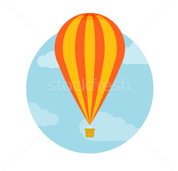 Hot air balloon flying Stock photo © robuart