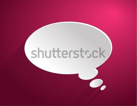 Bubble icon Stock photo © robuart
