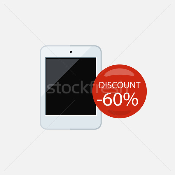 Sale of Household Appliances Ebook Stock photo © robuart