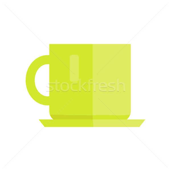 Cup Vector Illustration in Flat Style Design.   Stock photo © robuart