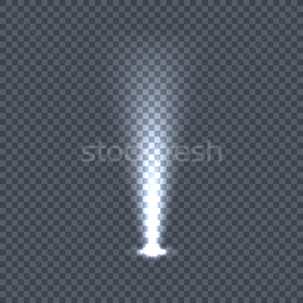 Illumination with Light Effects on Transparency Stock photo © robuart