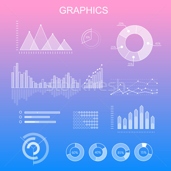 Data Tools Finance Diagram and Graphic Stock photo © robuart