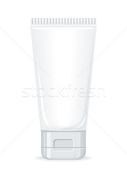 Bozót krém üveg üres kozmetikai termék Stock fotó © robuart