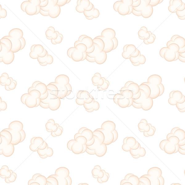 изолированный вектора розовый облака белый Сток-фото © robuart