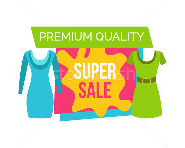 Super Sale for female Clothes of Premium Quality Stock photo © robuart