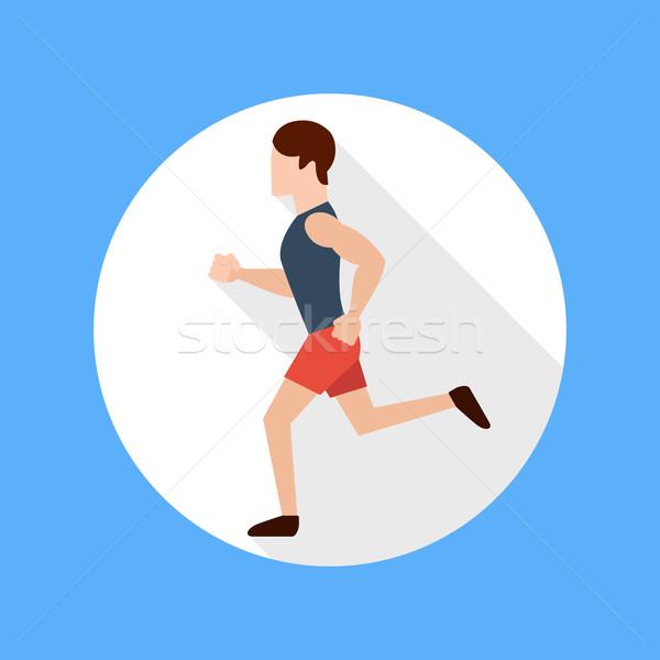 Running man Stock photo © robuart