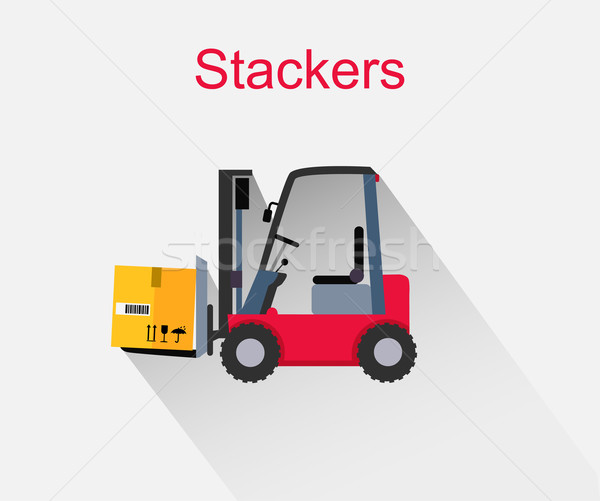 Stackers Icon Design Style Flat Stock photo © robuart