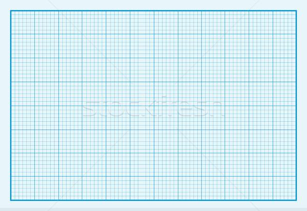グラフ 紙 デザイン グリッド 紙のテクスチャ 広場 ストックフォト © robuart