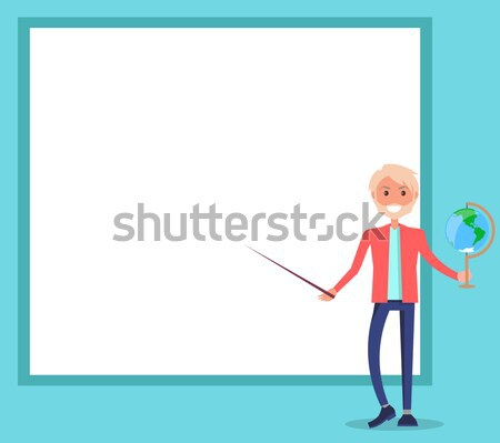 Winner Business Woman with Golden Medal Stock photo © robuart