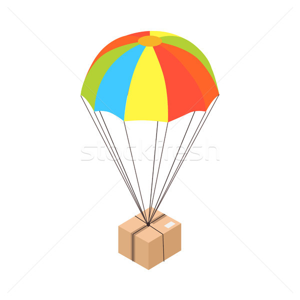 Internet Purchase Delivery Isolated Illustration Stock photo © robuart