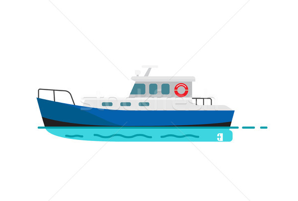 Pêche marines nautique transport type style Photo stock © robuart