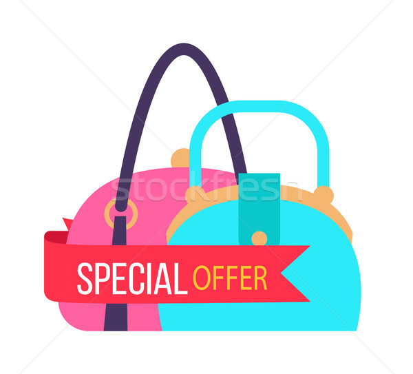 Special Offer for Fashionable Female Handbags Stock photo © robuart