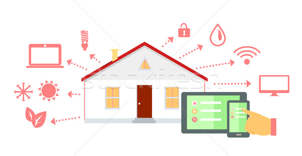 Automation stock photos stock images and vectors page 2 for Smart home technology definition