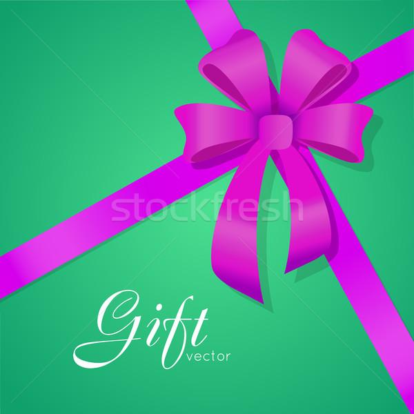 Dom vetor arco grande violeta Foto stock © robuart
