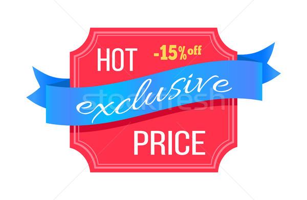 Exkluzív forró ár 15 százalék el Stock fotó © robuart