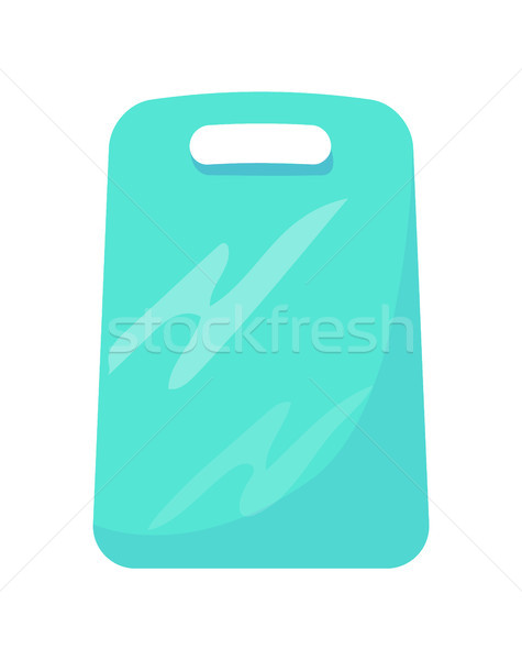 Cutting Board Made of Plastic Vector Illustration Stock photo © robuart