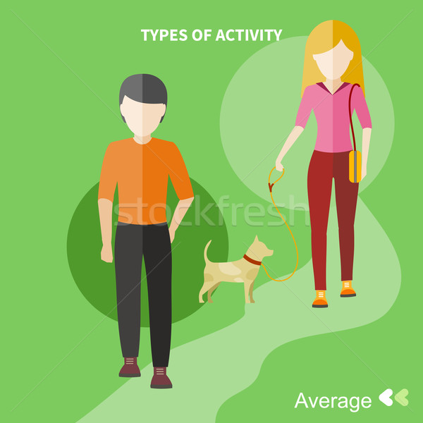 Healthy lifestyles daily routine Stock photo © robuart