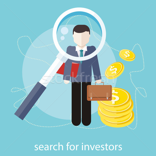 Search for investors Stock photo © robuart