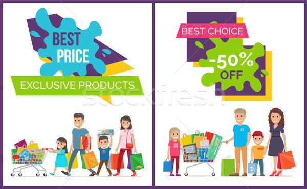 Legjobb ár választás promo exkluzív termékek promóciós Stock fotó © robuart