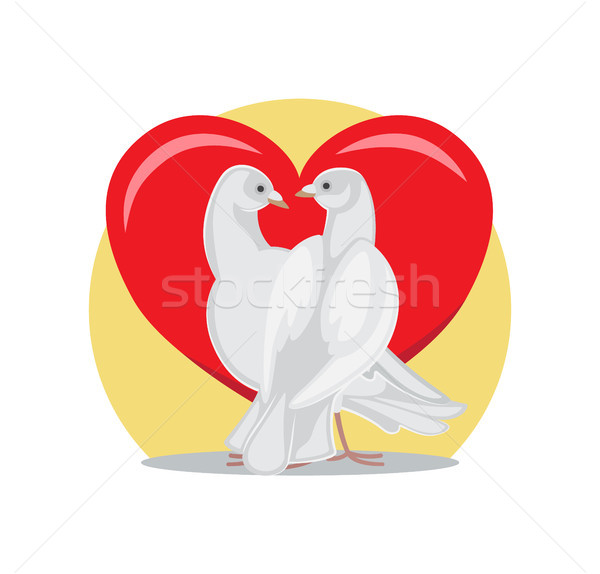 Guardare altro passione rosso cuore Foto d'archivio © robuart