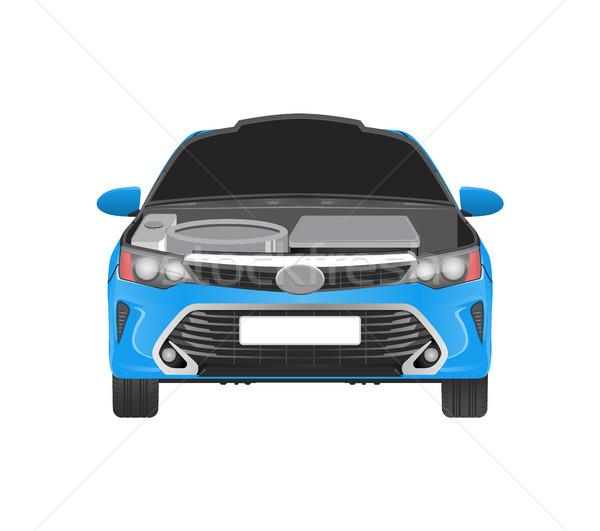 車 オープン 必要 交換 現代 ストックフォト © robuart