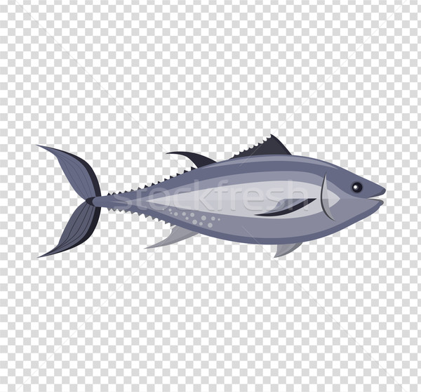 Fish Icon Design Flat Isolated Stock photo © robuart