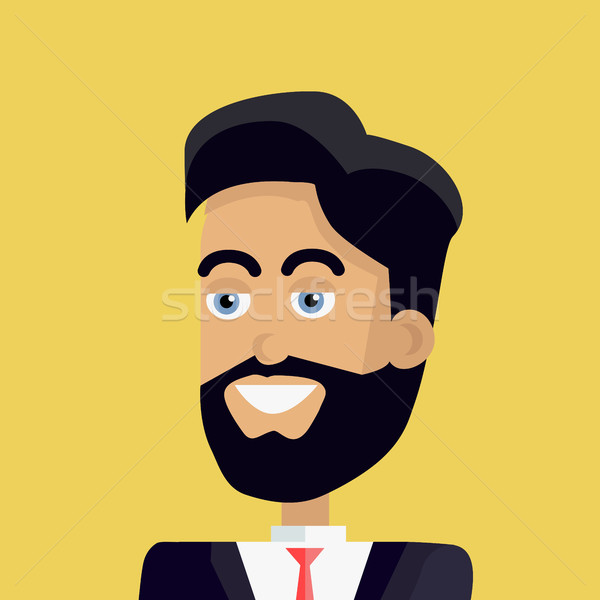 Young Businessman Avatar Stock photo © robuart