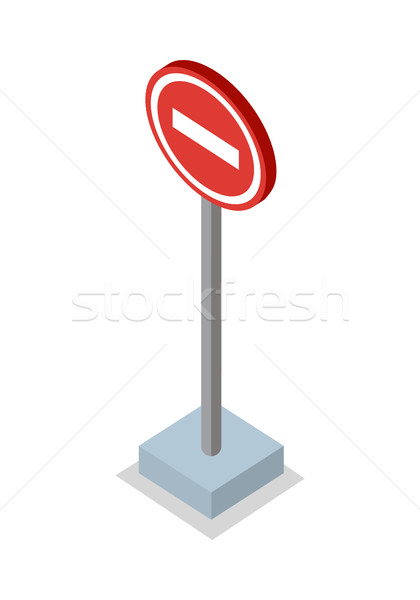Do Not Enter - Traffic Sign Stock photo © robuart