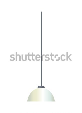 Interior Decor Chandelier Vector Illustration Stock photo © robuart