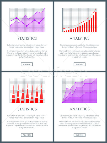 Analytics statistiques web texte Photo stock © robuart
