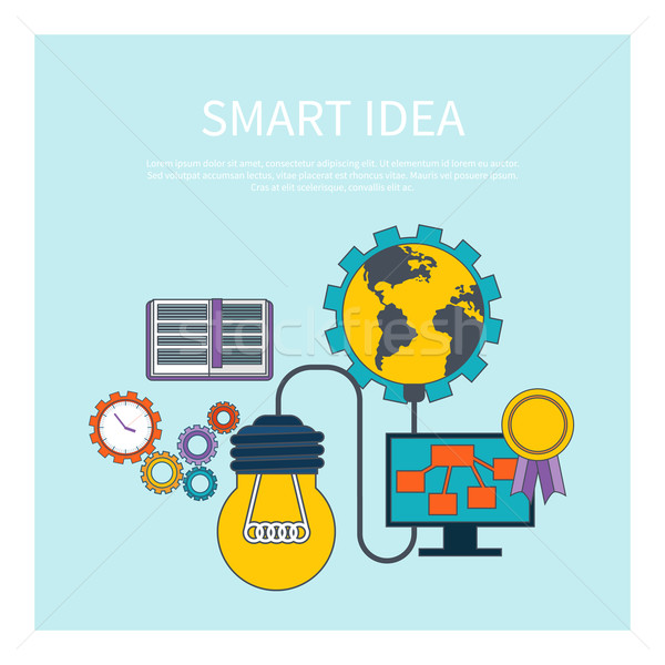 Smart idea concept Stock photo © robuart