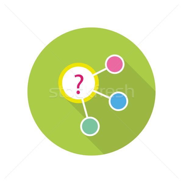 戦略的 管理 アイコン アルゴリズム 緑 計画 ストックフォト © robuart