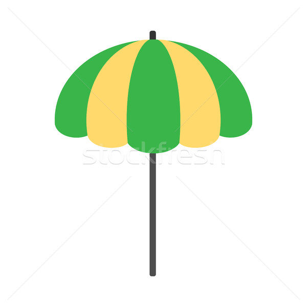Beach Umbrella Icon Stock photo © robuart