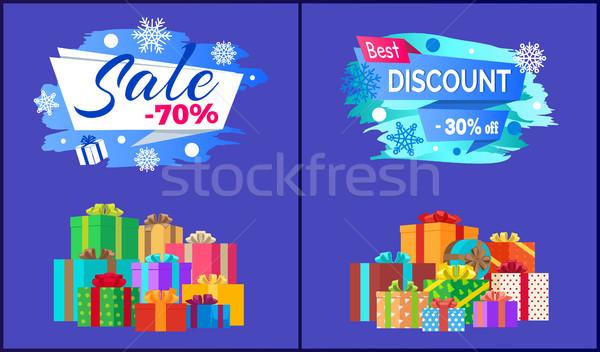 Végső vásár legjobb árengedmény 30 el Stock fotó © robuart