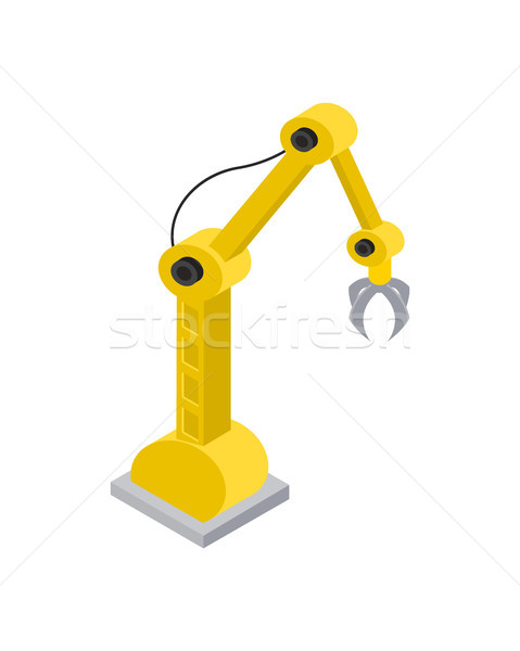 Hydraulic Robot with Special Nozzle Claws Image Stock photo © robuart