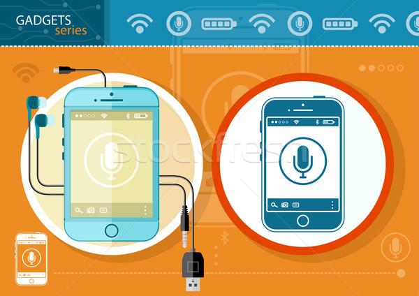 携帯電話 無線通信 技術 スマートフォン モビリティ ビジネス ストックフォト © robuart