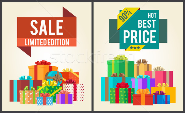 Sale Limited Best Price 90 Edition Super Discount Stock photo © robuart