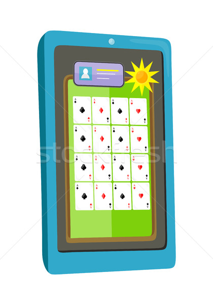 Online Casino on Tablet Computer Stock photo © robuart