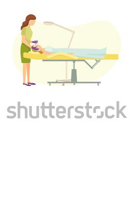 Boy in Shirt Lie on Floor and Read Book Vector Stock photo © robuart