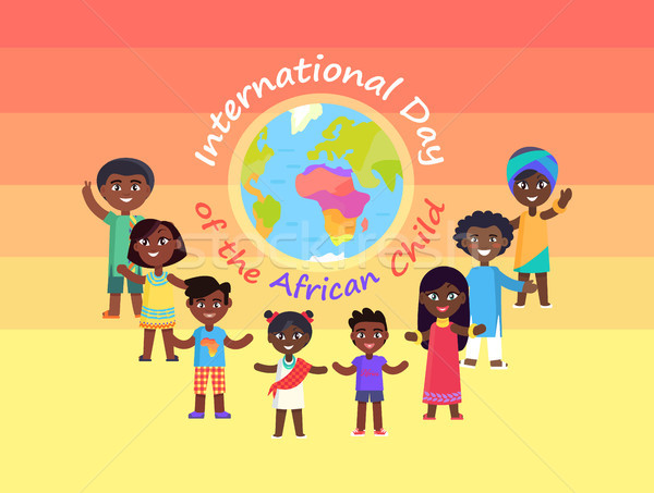 International day of African Child Commercial Stock photo © robuart
