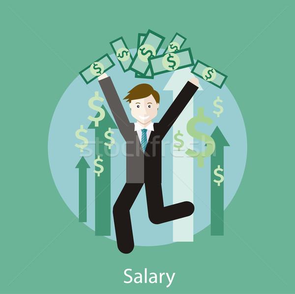 Salary Concept Stock photo © robuart