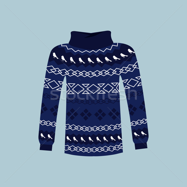Winter Warm Sweater Handmade, Svitshot, Jumper Stock photo © robuart
