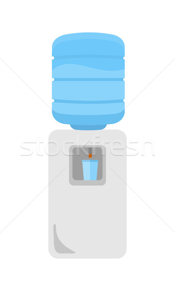 Water Cooler in Flat Stock photo © robuart