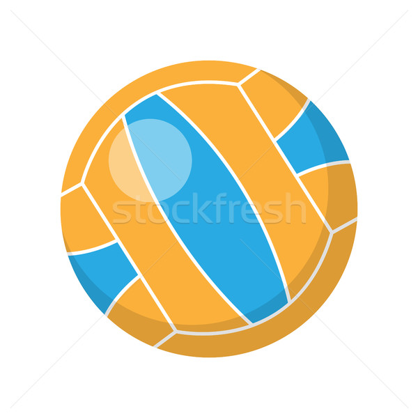 Volleyball Vector Illustration in Flat Design Stock photo © robuart