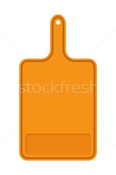 Arancione tagliere banner superficie gestire Foto d'archivio © robuart