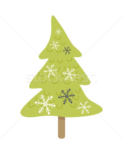 Navidad Cartoon aislado blanco vector Foto stock © robuart