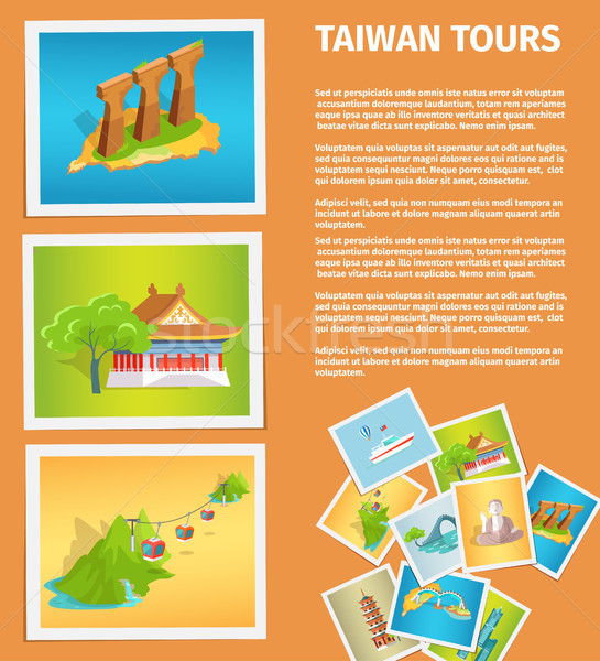 Travel Memories Flat Vector Web Banner Stock photo © robuart